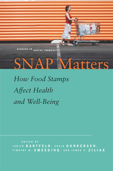 Thumbnail: SNAP Matters: How Food Stamps Affect Health and Well-Being, Stanford press