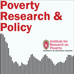 IRP Poverty Research & Policy Podcast Logo