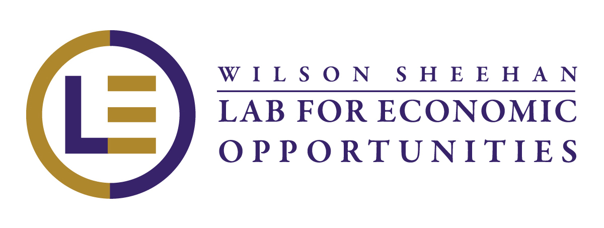 Wilson Sheehan Lab for Economic Opportunities, University of Notre Dame Logo
