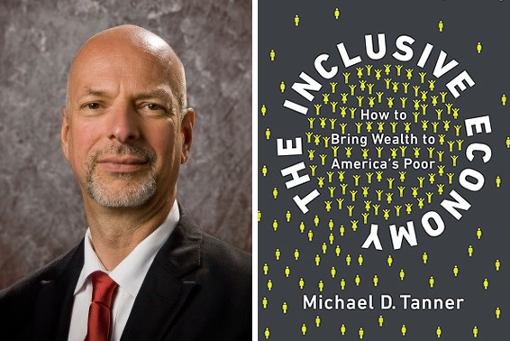 Michael Tanner and The Inclusive Economy book cover thumbnail