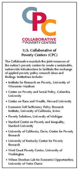 List of U.S. Collaborative Poverty Centers