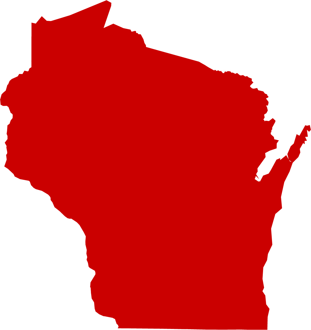 Image of the State of Wisconsin