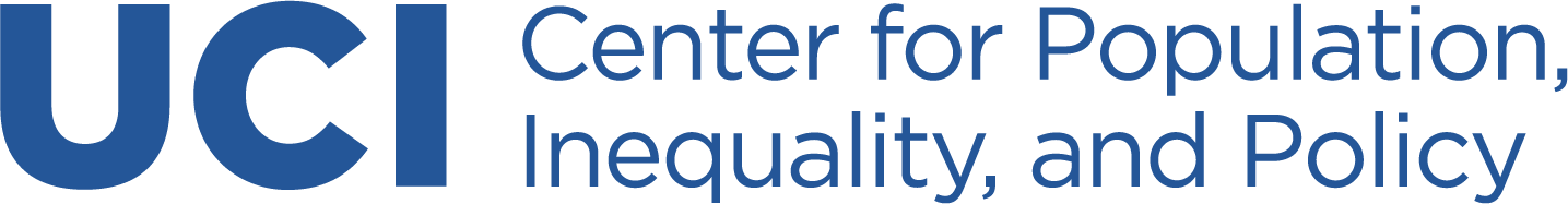University of California Irvine, Center for Population, Inequality, and Policy logo