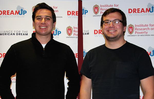 Clock'd Team: Marc LaPierre and Ian Buchanan