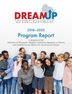 DreamUp Wisconsin 2018-2020 program report cover